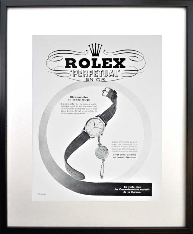 ロレックスのポスター1
